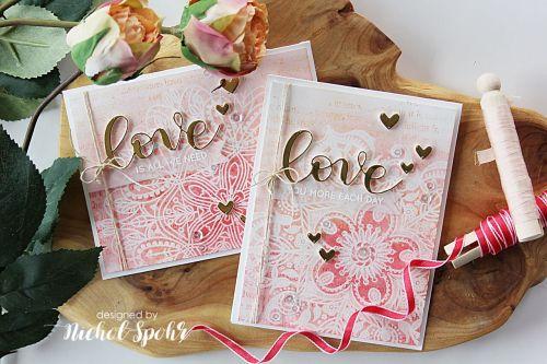 Simon Says Stamp Hey Love Blog Hop | Embossed Resist & Dimensional Greetings Valentine's Cards!