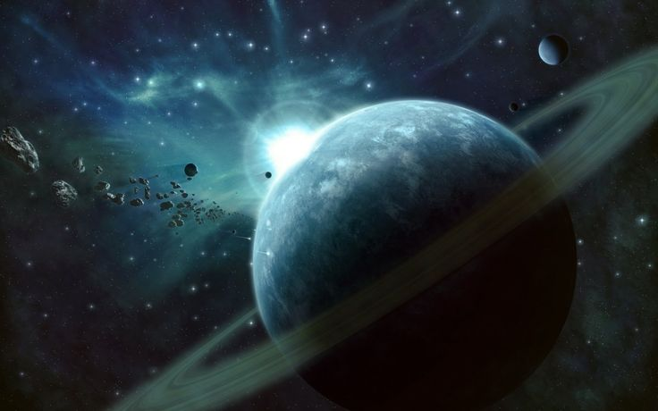 Beautiful pictures on the space theme 19