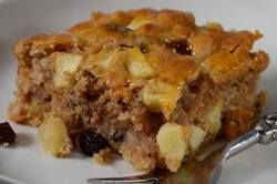 An Apple Cake is the perfect Fall dessert, with its chunks of apples and pecans, along with plump and juicy raisins, all wrapped in a cinnamon-laced batter. From Joyofbaking.com With Demo Video