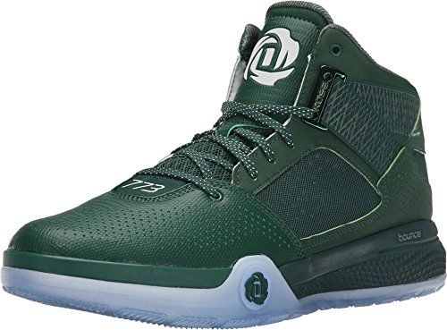 quality design ca2b0 3c924 adidas Mens D Rose 773 IV Basketball Shoes (6, Dark GreenCore Black