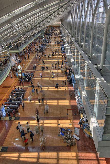 Haneda Airport Terminal 2, Japan