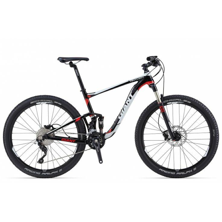 """GIANT ANTHEM 27.5"""" 3 LTD 2014 Es una auténtica máquina de carreras XC de doble suspensión rediseñada para la nueva geometria de 27.5"""". Destaca su horquilla RockShox Reba RL de 100mm, su amortiguador RockShox Monarch R, grupo transmisión deore. PRECIO: 1799€. + INFO http://www.bikingpoint.es/bicicleta-giant-anthem-27-5-3-ltd.html"""