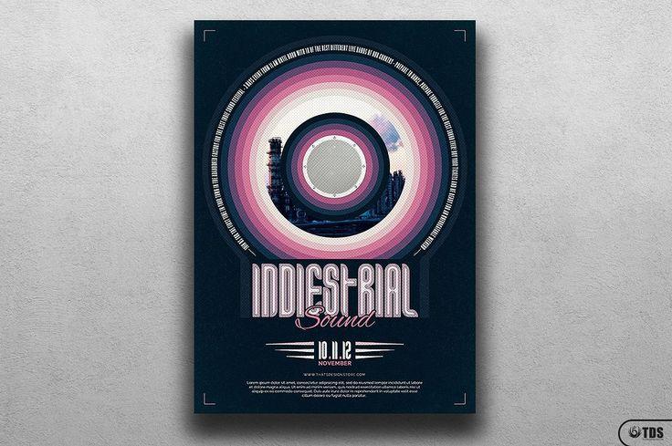 Indie Fest Flyer Template V4