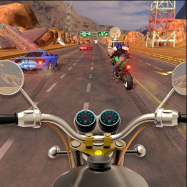 Traffic Bike Rider Super Racer - Bike Games 2018: Enjoy a unique realistic Traffic Bike Rider Super Racer - Bike Games 2018 new with exciting and astounding fast dirt bike racing physics control.