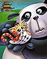 Two Hands Full Badge - Panda Pai Gow Poker