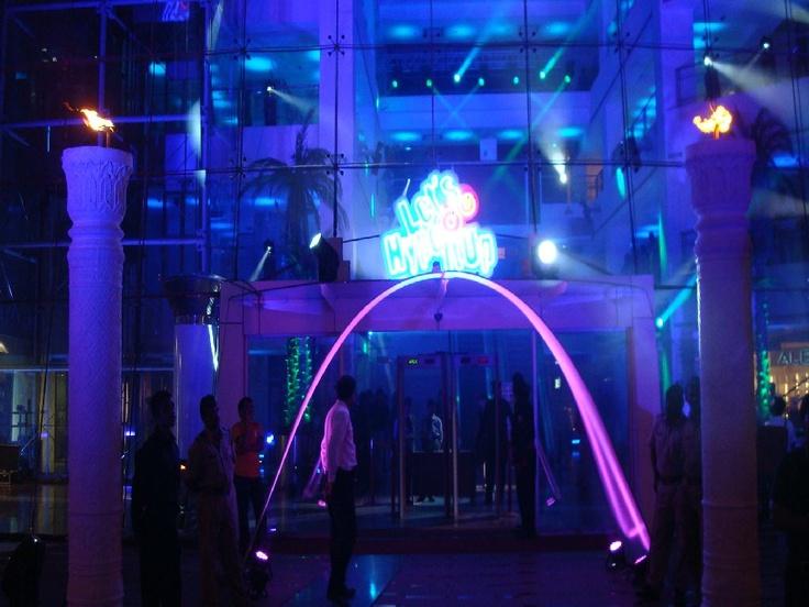 Entrance Decor   Venue:- Atria Mall