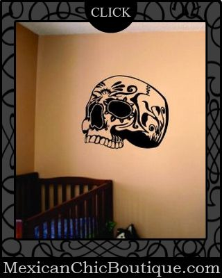82 best day of the dead decal - skulls images on pinterest | skull