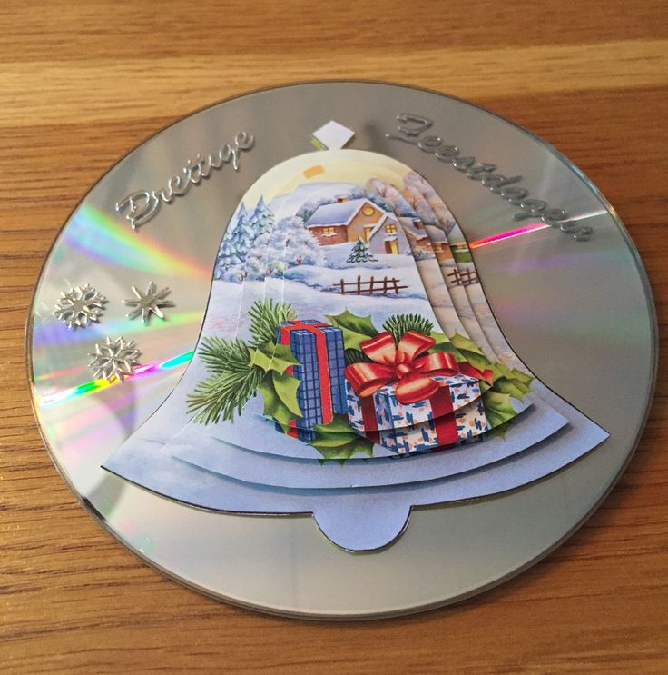 Kerst'kaart' van CD