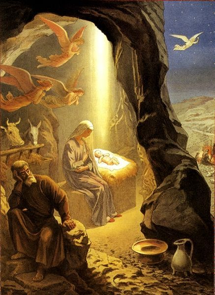 "Jesus birth - And Mary said, ""Behold, I am the servant of the Lord; let it be to me according to your word."" Luke 1:38"