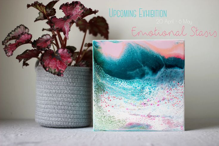 Grace Louise - Canberra Resin Artist | UPCOMING EXHIBITION