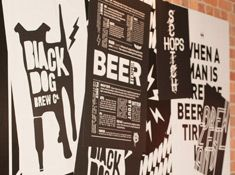 Black Dog is a small brewery based in Wellington. They aim to reproduce classic ales but with a twist. Chomp is one of our draught beers with a suprising flavour! A favourite with our staff!
