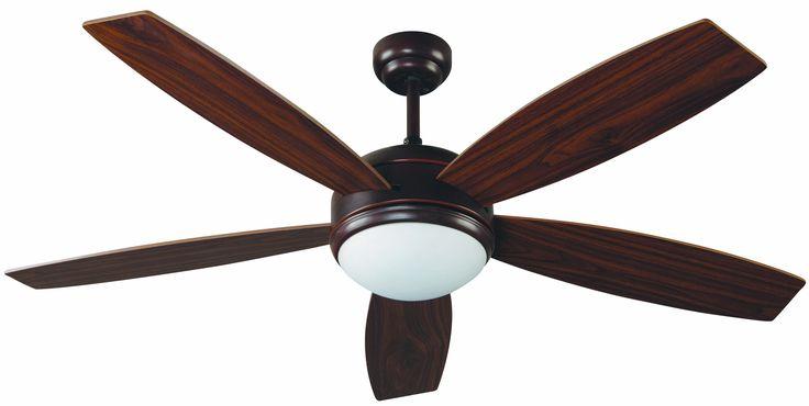 Ventilador de techo marrón con luz Vanu 33314 Ø 1320 de Faro [33314] - 188,60€ :