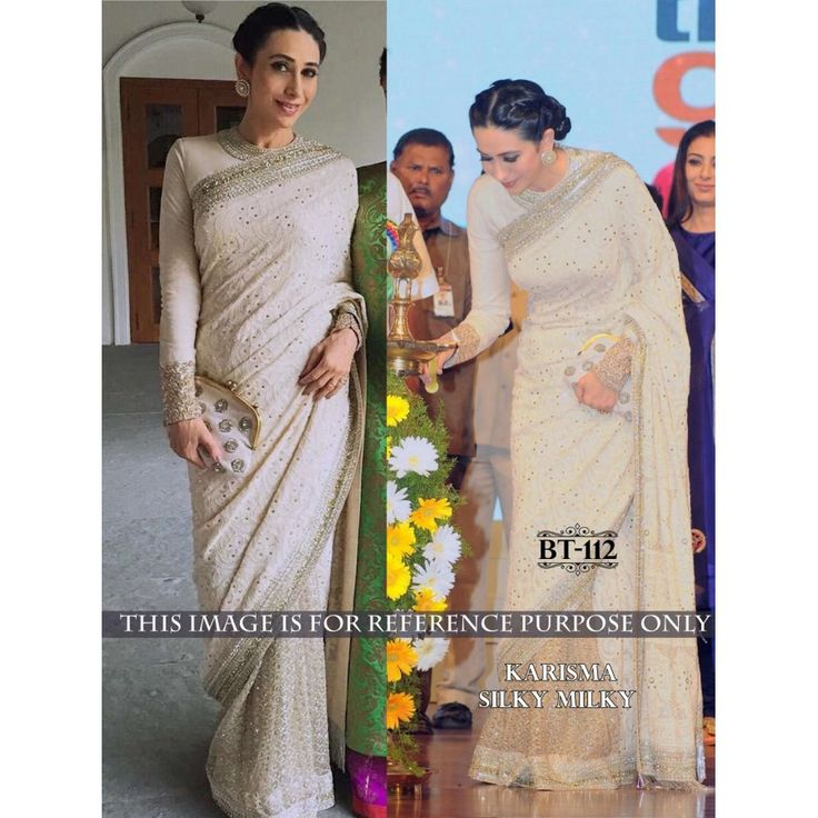 Elegant Beige Thread With Sequnce& Hand Work 60Gm Georgette Saree with Blouse at just Rs.2350/- on www.vendorvilla.com. Cash on Delivery, Easy Returns, Lowest Price.