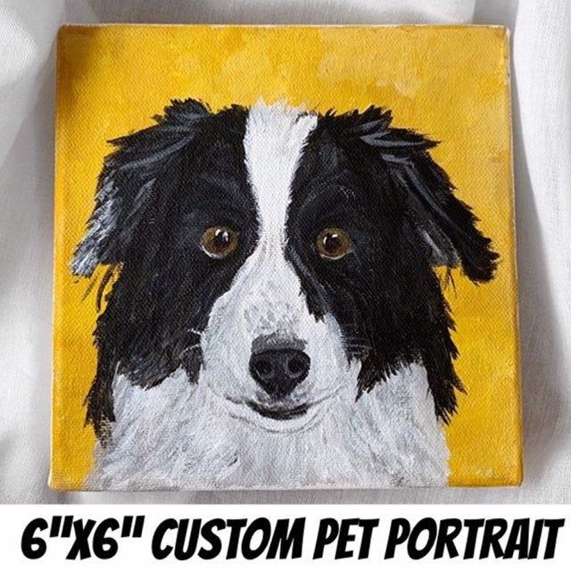 Pin On Cuddles And Creativity Art Pet Portraits
