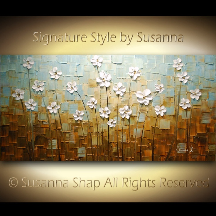 ORIGINAL Large Abstract Contemporary Textured by ModernHouseArt, $345.00