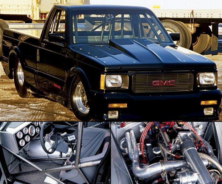 Gmc Vs Chevy >> 1991 GMC Syclone 311ci V-6 With A Precision 91.5mm ...