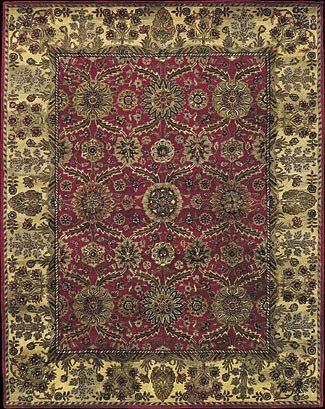 "Nourison Jaipur Ja20 2'4"" x 8'0"" Red Runner Area Rug by Nourison. $299.00. Jaipur JA20 red rug by Nourison Rug Corp. is a hand knotted rug made from wool. It is a 2 x 8 area rug runner in shape. The manufacturer describes the rug as a red 2'4"" x 8'0"" area rug. Buy discount rugs with Buy Area Rugs .com SKU 06902