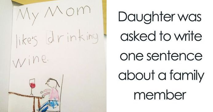 Times Kid Drawings Revealed Too Much About Their Parents – 18 Pics