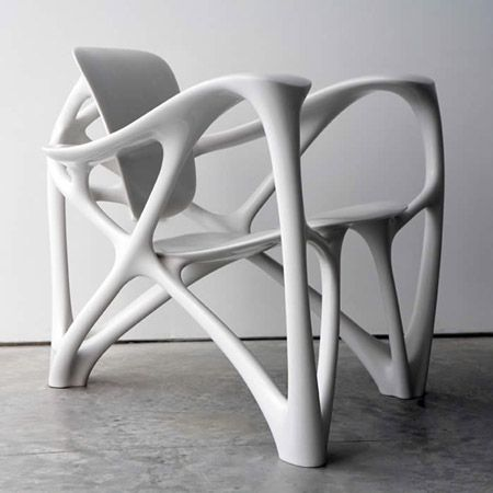 Bone Armchair by Joris Laarman... Montreal Museum of Fine Arts / Decorative Arts exhibit has part of this collection :-)