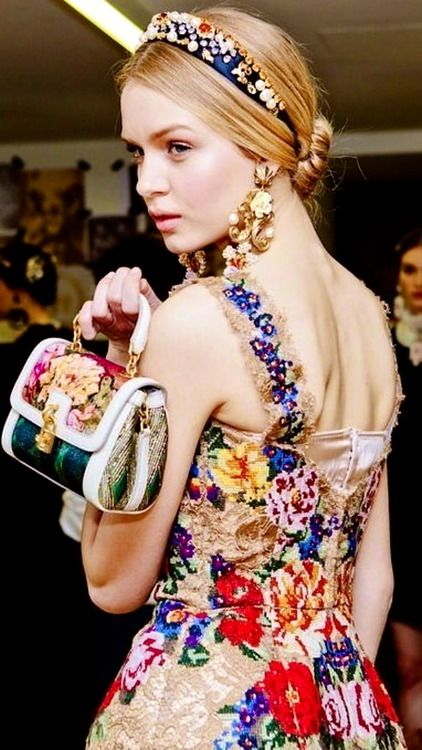 Russian style by Dolce & Gabbana.