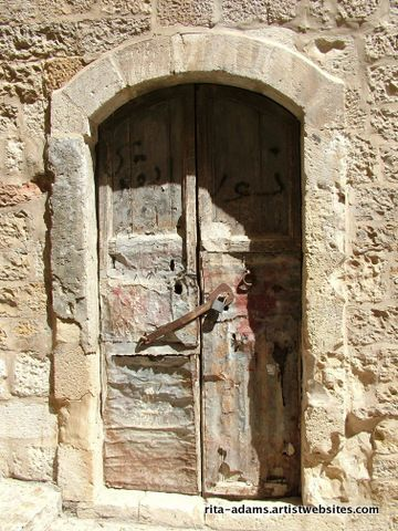 Ancient Door Jerusalem Faa Photos And Art Of Israel