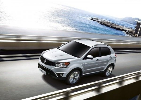 2014 SsangYong Korando Silver 600x429 2014 SsangYong Korando Review and Design
