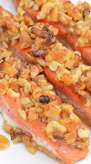... Pecan Crusted Salmon on Pinterest | Crusted Salmon, Salmon and Pecans