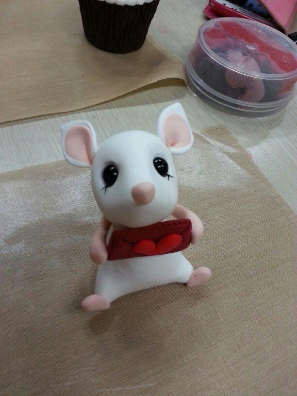 클레이- 쥐 캐릭터