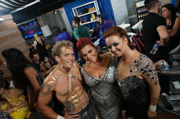 AeroSphere and Deanna DellaCioppa! #AGT #BTS
