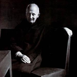 Dutch benedictine monk/architect Dom. Hans van der Laan (1904-1991).