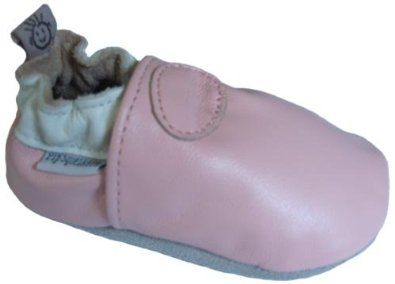 Baby Leather Soft Sole Shoes, Pink, XXL (15-18 Months / 5 M US Toddler) Pip Squeakers. $12.99
