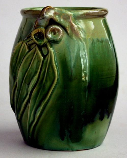 Remued Pottery vase.