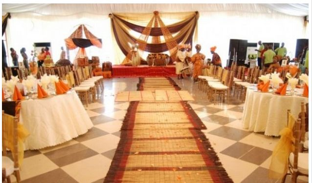 African Wedding Decorations