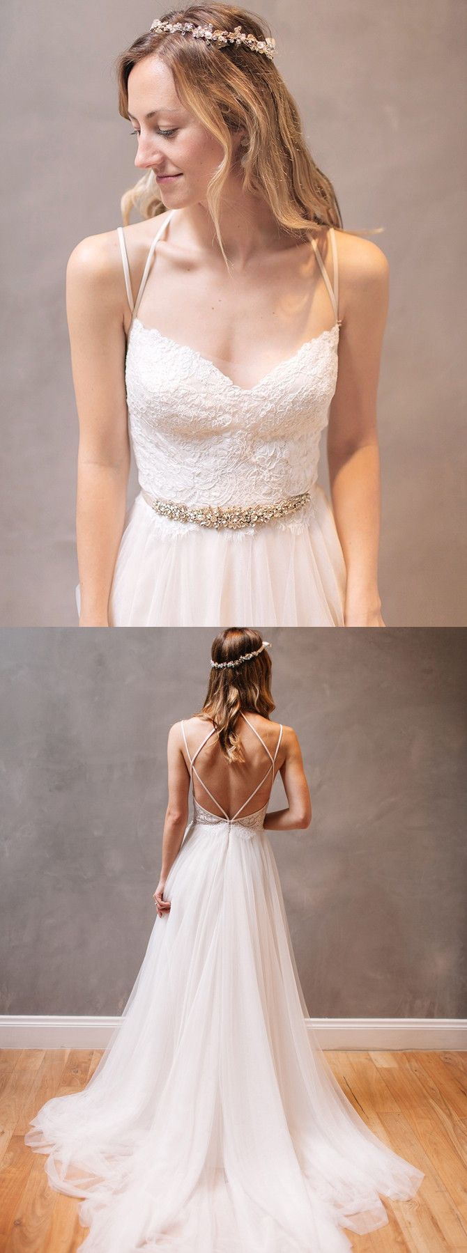 2017 wedding dresses,lace wedding dresses,backless wedding dresses,simple wedding dresses @simpledress2480