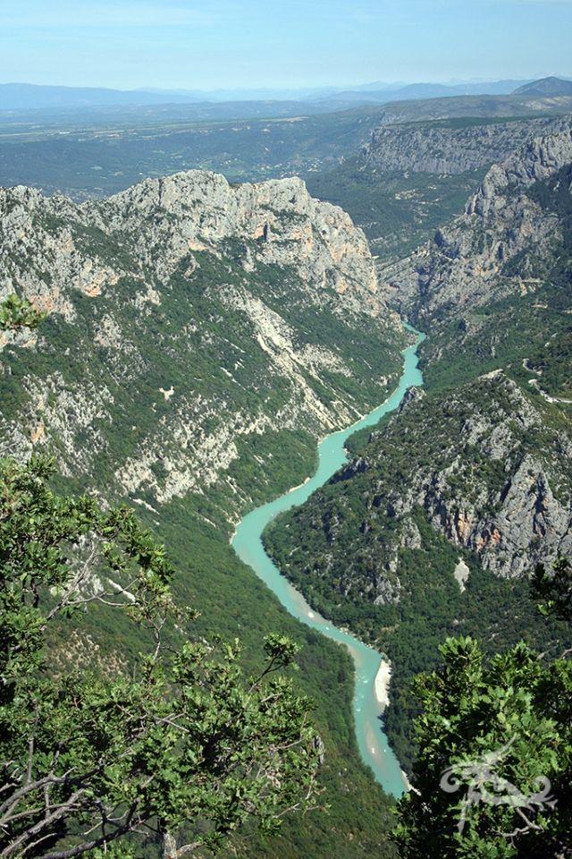 Rund um die Provence / Etappe 1-4: Von Köln bis Sainte-Croix-du-Verdon