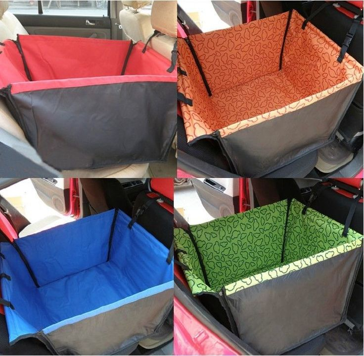 Car Pet Dog Cat Travel Waterproof Hammock Back Seat Cover Rear Protector Cushion #UnbrandedGeneric