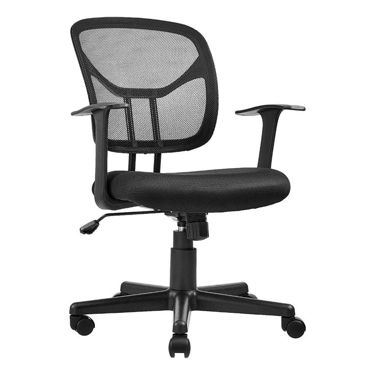 Amazonbasics midback desk office chair with