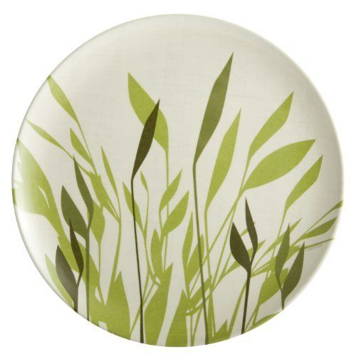 Zak Designs Breeze 8-Inch Melamine Salad Plate by Zak Designs. $9.50. Made of 100-Percent melamine; durable and versatile; can be used indoors and outdoors; light weight, more resilient to drops and dings than porcelain and ceramic. Tested BPA, PVC, phthalate, and lead safe. Breeze design; grassy silhouette on linen brings a sense of tranquility. Long lasting; easy care; dishwasher safe. 8-Inch salad plate by Zak Designs. Made of durable, stain resistant melam...