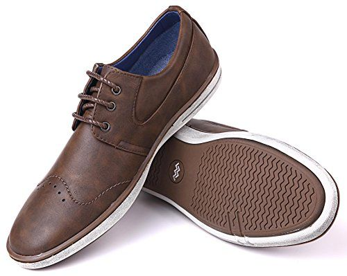 Mio Marino Mens Dress Shoes - Fashion Casual Oxford Shoes For Men.