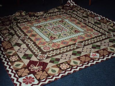 Quiltsmith Australia Elizabeth Jefferson BOM The Original Of This Quilt Was Made By 11