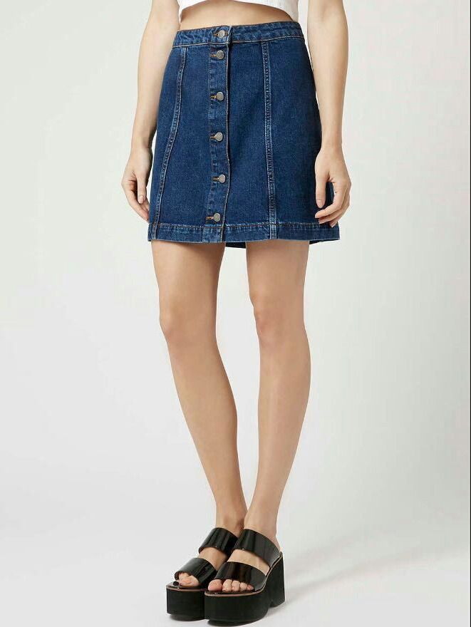 17 best ideas about Denim Skirts Online on Pinterest | Justice ...