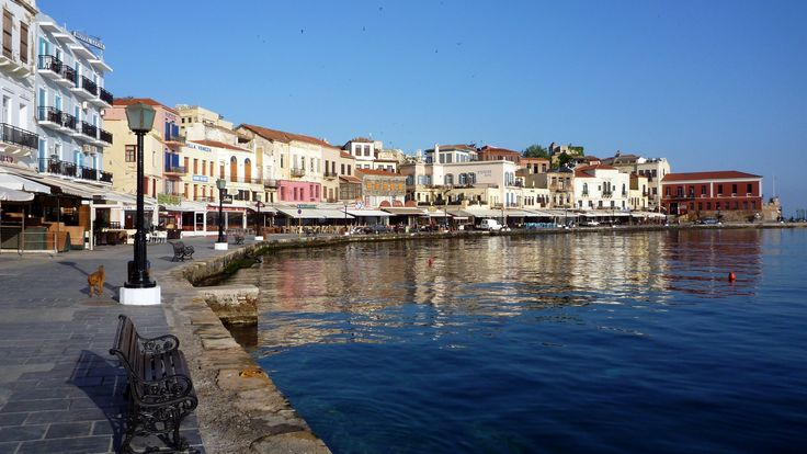 The breathtaking Old Port of Chania, Crete | Greece