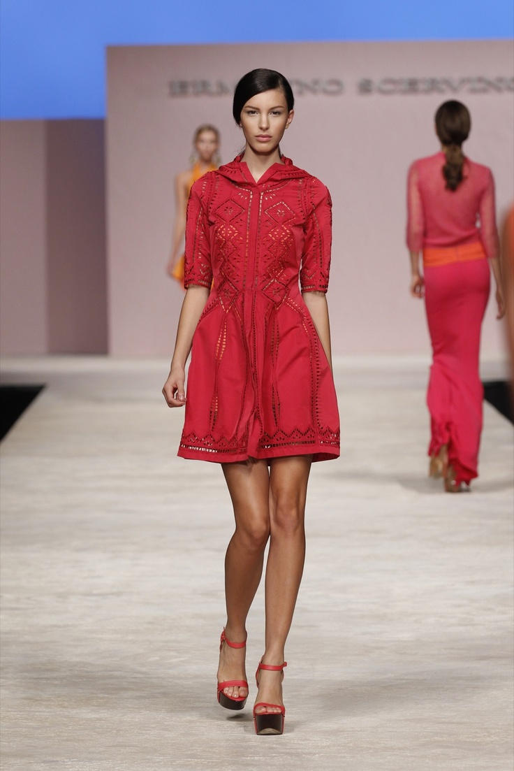 Great colour!  Ermanno Scervino - Woman SS 13, Images, Look 06
