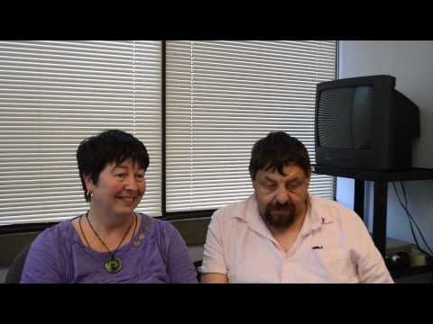 Ron Coleman and Karen Taylor from Working to Recovery on The Hearing Voices…