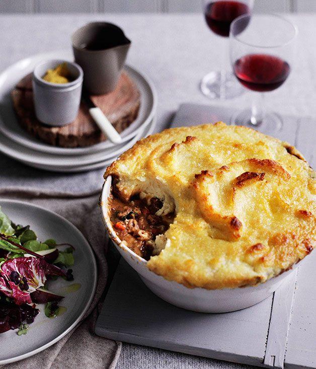 Lamb neck shepherd's pie - Gourmet Traveller