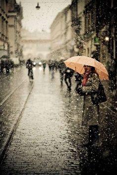Parisian Rain