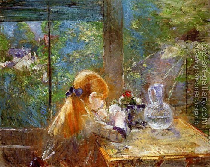 Berthe Morisot : On the Veranda