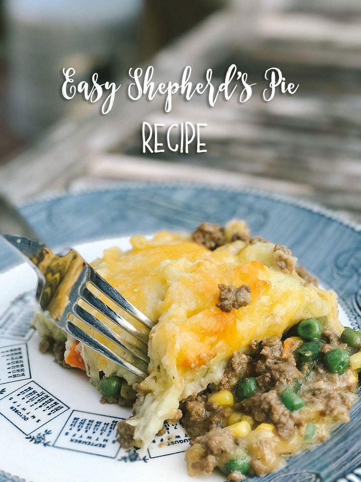 Best Shepherds Pie Recipe by lifestyle blogger Still Being Molly