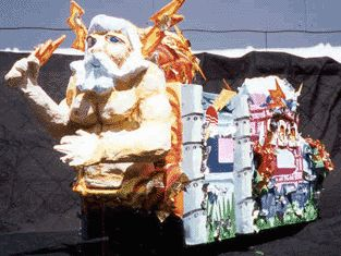 Rene J. Pierre, Papier Mache Mardi Gras Float Model Maker http://louisianafolklife.nsula.edu/artist-biographies/profiles/178