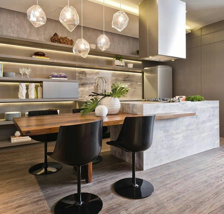 28 best Cocinas images on Pinterest Kitchen designs, Kitchen small